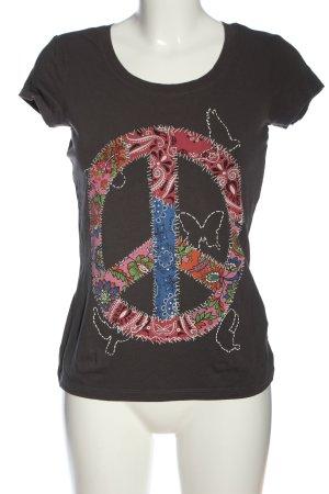 AJC T-shirt imprimé imprimé avec thème style décontracté