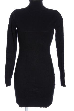 AJC Abito maglione nero stile casual