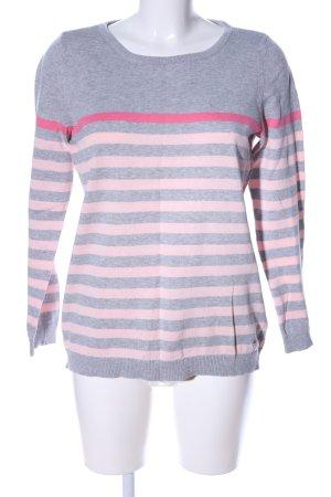 AJC Crewneck Sweater light grey-pink flecked casual look