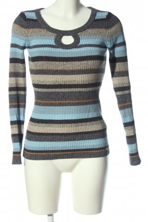 AJC Crewneck Sweater striped pattern casual look