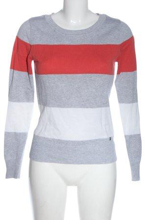 AJC Sweter z okrągłym dekoltem Melanżowy W stylu casual
