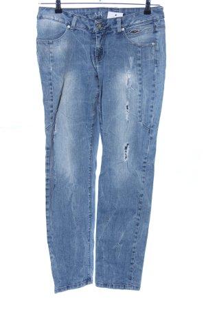 AJC Slim Jeans blau Casual-Look