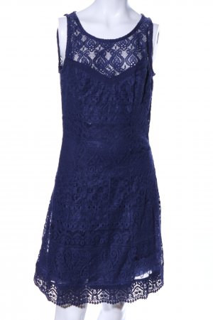 AJC Lace Dress blue graphic pattern business style