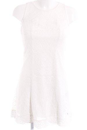 AJC Koronkowa sukienka biały
