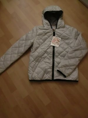 AJC Quilted Jacket silver-colored-black polyamide