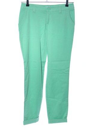 AJC Stoffhose grün Casual-Look