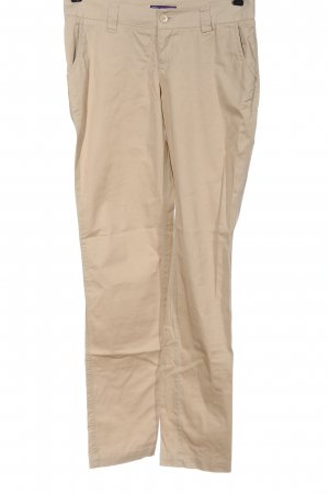 AJC Pantalone jersey crema stile casual