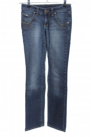 AJC Straight-Leg Jeans blau Casual-Look