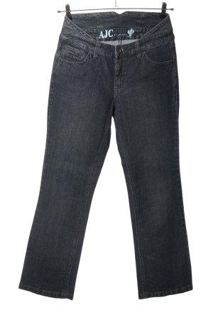 AJC Jeans coupe-droite bleu style décontracté