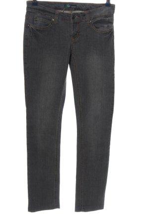 AJC Jeans coupe-droite gris clair style décontracté