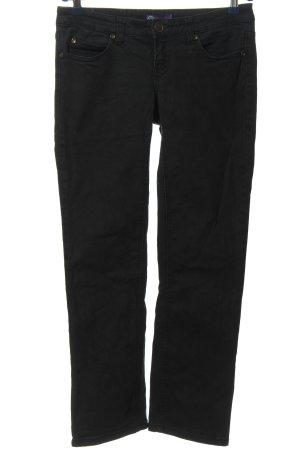 AJC Jeansy z prostymi nogawkami czarny W stylu casual