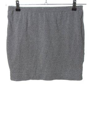 AJC Spódnica ze stretchu jasnoszary Melanżowy W stylu casual