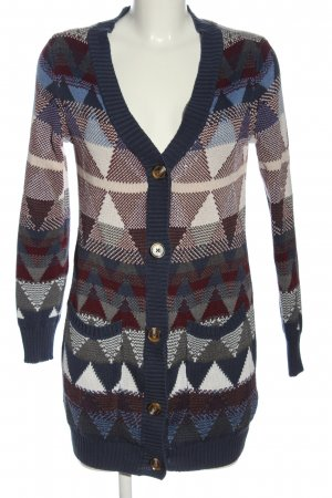 AJC Cardigan tricotés imprimé allover style décontracté