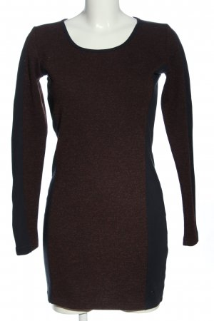 AJC Knitted Dress red-black casual look