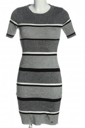 AJC Knitted Dress striped pattern casual look