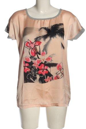 AJC T-shirt motivo floreale stile casual