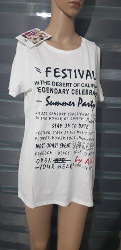 ajc T-Shirt mit print