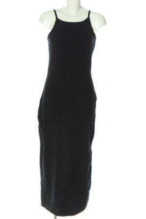 AJC Vestido tipo overol negro look casual