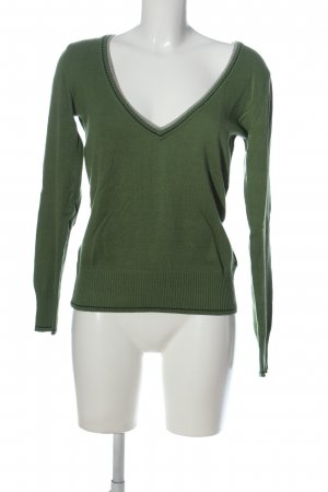 AJC V-Neck Sweater khaki-brown casual look