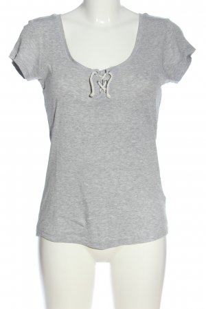 AJC T-Shirt light grey flecked casual look