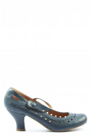 AJVANI Mary Jane Pumps blue casual look