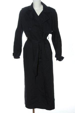 Aker Płaszcz przejściowy czarny W stylu casual