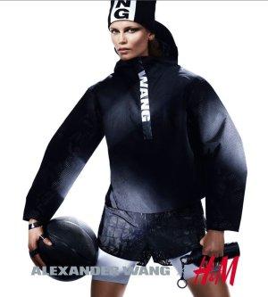 Alexander Wang for H&M Cap black-white polyamide