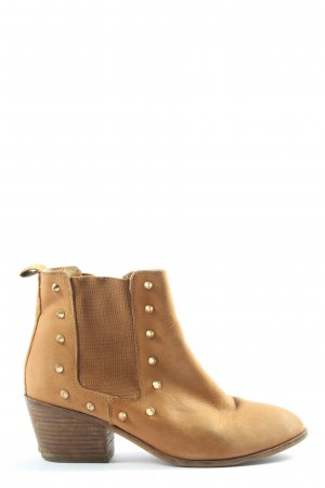 Akira Ankle Boots light orange casual look