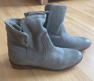 Akira Boots, Echt Leder, Gr. 39, grün, NEU