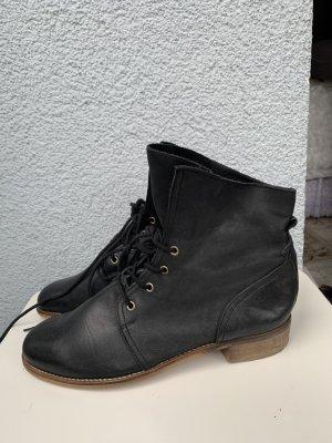 Akira Aanrijg laarzen zwart