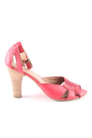 Akira Hoge hakken sandalen roze casual uitstraling