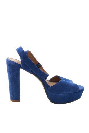 Akira High Heel Sandaletten blau Casual-Look