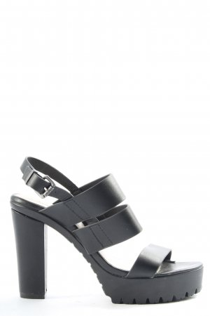 Akira High Heels schwarz Casual-Look