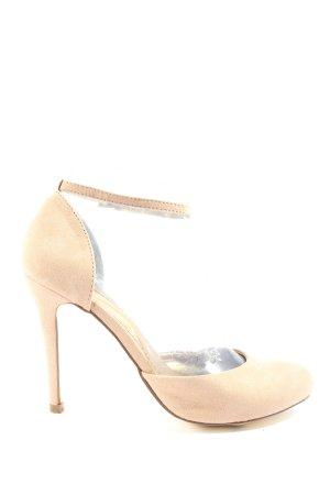 Akira High Heels creme Casual-Look