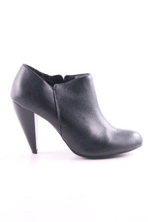 Akira Chaussure à talons carrés noir style décontracté
