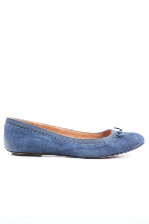 Akira Klassische Ballerinas blau Casual-Look
