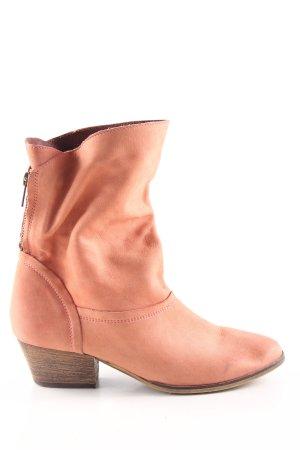 Akira Short Boots light orange elegant