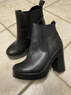 Akira Slip-on laarzen zwart Leer