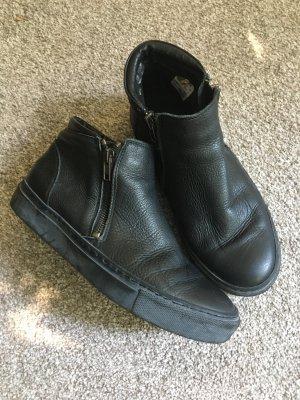 Akira Zapatos sin cordones negro Cuero