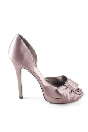Akira Peep Toe Pumps roze zakelijke stijl