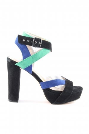 Akira Strapped pumps multicolored extravagant style