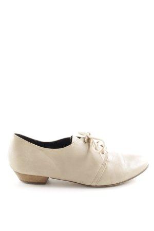 Akira Lace Shoes cream business style