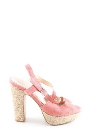 Akira Wedges Sandaletten pink Casual-Look