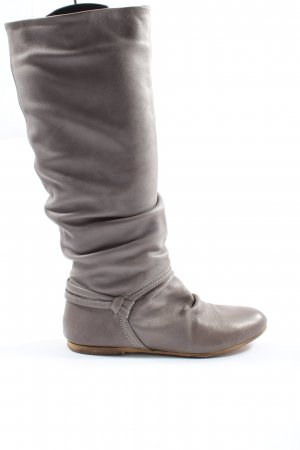 Akira Wide Calf Boots light grey-brown casual look