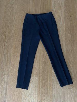 Akris Stoffen broek donkerblauw