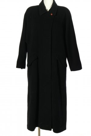 Akris Oversized Mantel schwarz Casual-Look