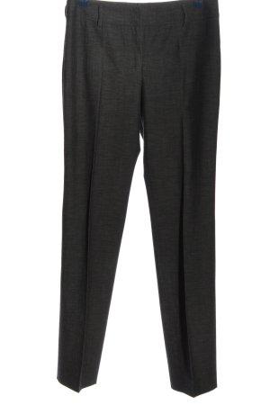 Akris punto Spodnie garniturowe jasnoszary Melanżowy W stylu casual