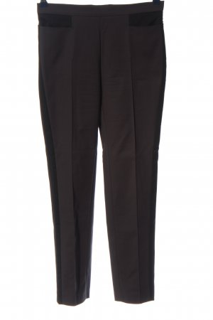 Akris punto Spodnie garniturowe czarny W stylu biznesowym