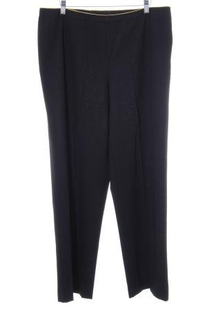 Akris punto Spodnie z zakładkami czarny Elegancki