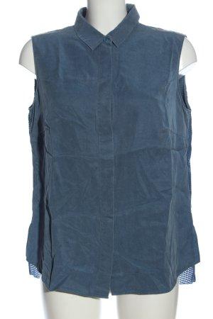 Akris punto Koszulowa bluzka niebieski W stylu casual